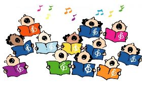 clip-art-of-a-group-of-children-singing