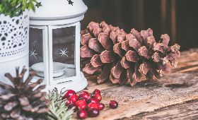 pinecone-cranberry-candle-holder