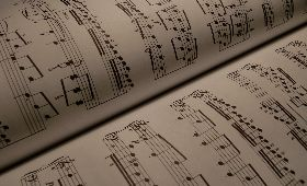 sheet-music-with-music-notes